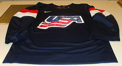 Team USA 2015 World Juniors Championship XXL Hockey Jersey IIHF Blue