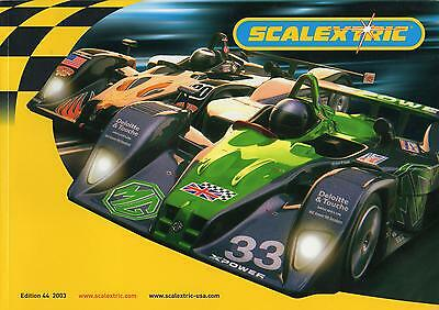 Scalextric 2003 Catalogue - Edition 44