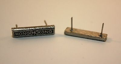 Hong Kong Clasp for WW2 Canadian Volunteer Service Medal, Miniature