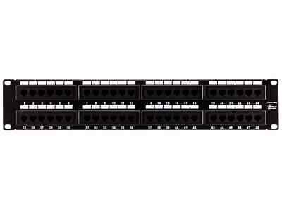 Monoprice 7305 Cat6 Patch Panel 110 Type 48 Port (568A/B Compatible)