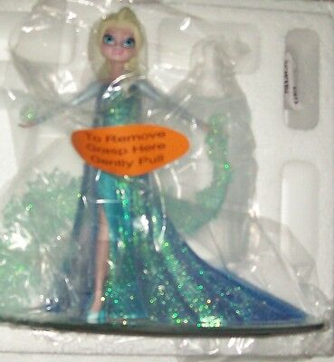 Disney Frozen Elsa Snow Queen Figurine Let It Go Limited Swarovski In-Hand New