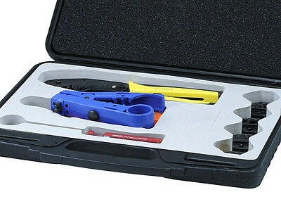 Monoprice 7054 Professional Coaxial Tool Kit