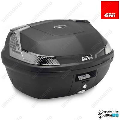 Bauletto Top Case B47 Monolock Nero Tech Senza Piastra 47 Lt Givi B4700Ntml