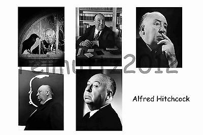 Alfred Hitchcock - Set Of 5 Large Photo Prints