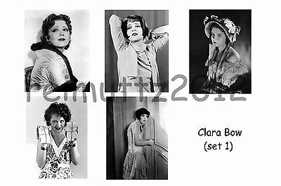 Clara Bow - Set Of 5 Large Photo Prints # 1