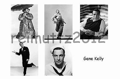 Gene Kelly - Set Of 5 Large Photo Prints