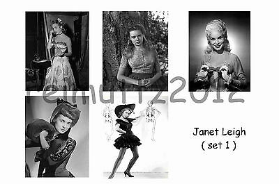 Janet Leigh - Set Of 5 Large Photo Prints #1