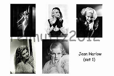 Jean Harlow - Set Of 5 Large Photo Prints #1