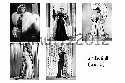 Lucille Ball - Set Of 5 Large Photo Prints # 1