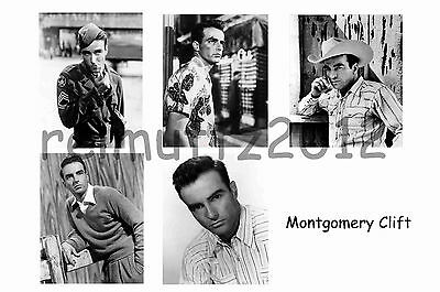 Montgomery Clift - Set Of 5 Large Photo Prints