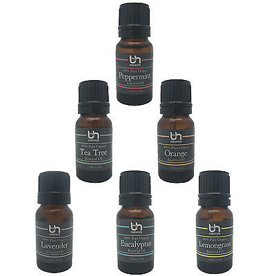 Essential Oil starter set certified organic 100% pure Makes a great gift