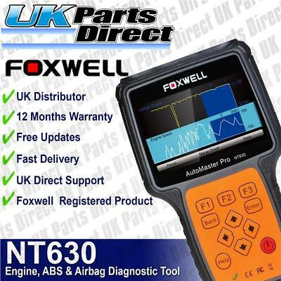 Foxwell NT630 Engine + ABS + Airbag SRS Diagnostic Scan & Reset Code Reader Tool