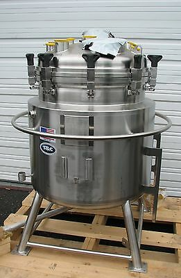 NEW T&C Stainless 250 Litter Jacketed Stainless Steel Vessel Bioreactor Tank