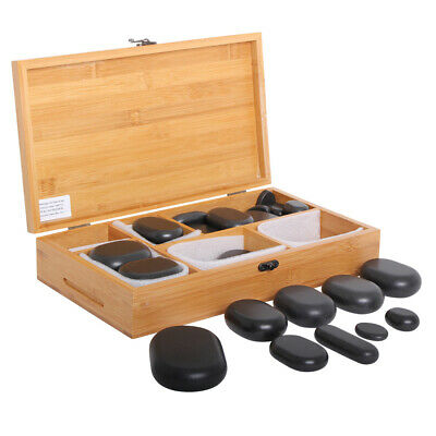 45 Pierres Chaudes hot stone cosmetique massage pierres - Promafit
