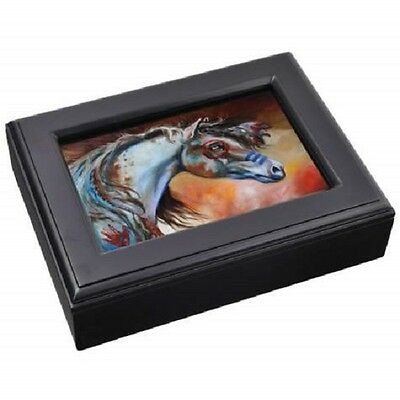 Equine Musical Jewelry Box by Marcia Baldwin - for Horse Lovers!