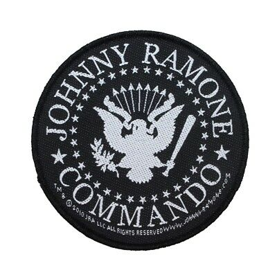 "The Ramones ""Johnny Ramone Commando"" Rock Band Merchandise Sew On Applique Patch"
