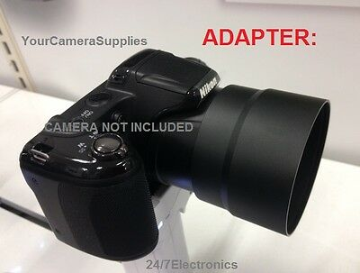 METAL 67mm ADAPTER TO DIGITAL CAMERA NIKON COOLPIX L320 L 320 67 mm, 1 part