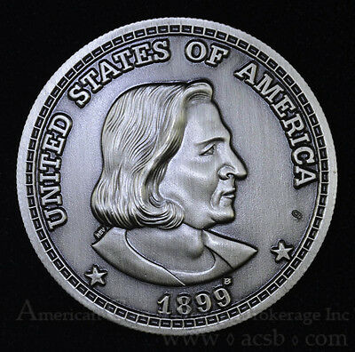 1899 Barber Pattern 1 Peso = 60 Cents Isla De Puerto Rico Limited Edition Medal
