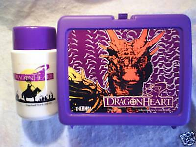 DRAGONHEART LUNCHBOX AND THERMOS UNUSED,movie,lunch box,dragon heart