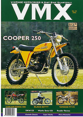 VMX Magazine Issue # 18 - OLD BACK ISSUES SUPER SALE!