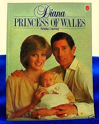 Diana Princess of Wales & Son w Charles Royal Photos Beautiful Pictures in Book