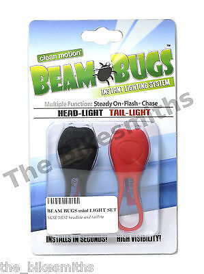 Clean Motion Lbbt2 Beam Bugs Wrap-Around Led Taillight Red