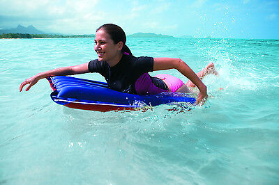 Genuine Intex Rubber Canvas Surf Rider mat 114cm x 74cm MID SIZE with Ropes