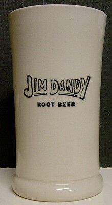 Circa 1910 Jim Dandy Root Beer Stoneware Mug