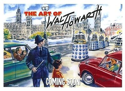 Walt Howarth - The Art of - Promo Trading Card PR1 from Strictly Ink
