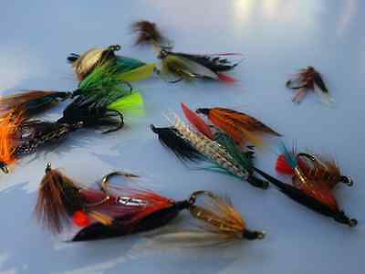 20 x Flextec Assorted Wet Flies Fly Selection for trout grayling fishing etc