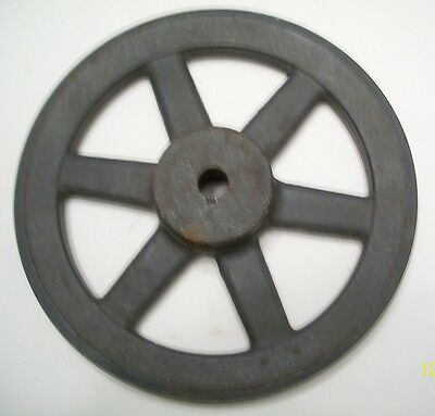 Old Industrial, Cast Iron, Browning Pulley, Steampunk, Just Lowered Price $10.00