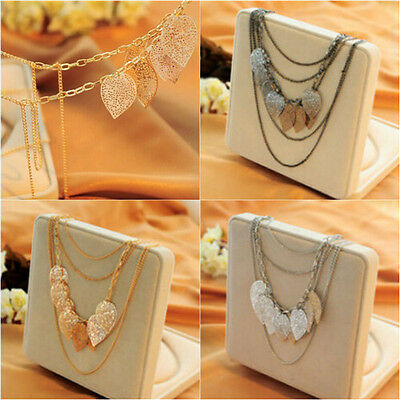 Fashion Silver Long Chain Sweater Necklace Pendant Party Special Women