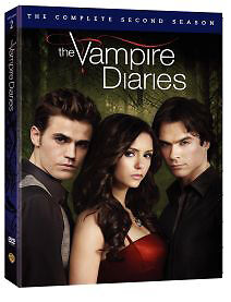 THE VAMPIRE DIARIES Second Season 2 Two (5 DVD Set) Brand New Sealed
