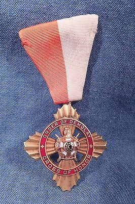 Vintage Masons Order Of Demolay Cross Of Honor Medal