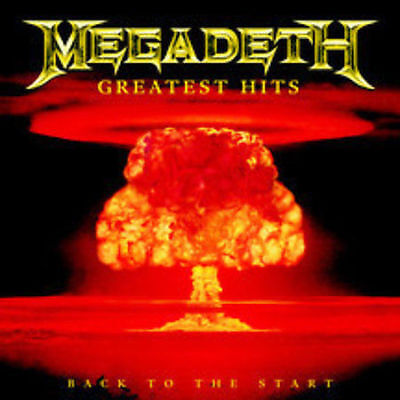 Megadeth New Unopened Rock Music Cd Greatest Hits Rock Music Metal