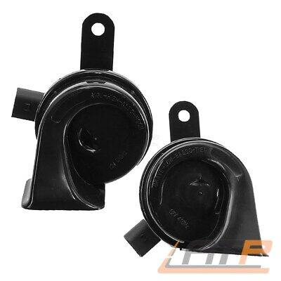 2x HORN SIGNALHORN HOCHTON+TIEFTON VW CADDY III 3 GOLF PLUS 5M V 5 1K 1.2 - 3.2