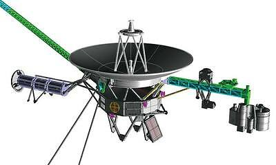 HASEGAWA 1/48 Unmanned Space Probe Voyager 54002 NEW Plastic Model Kit NASA