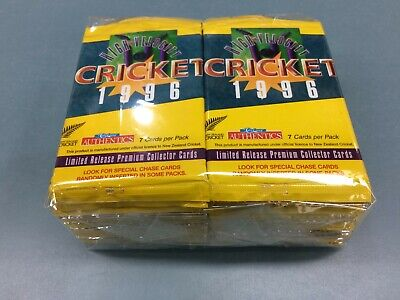 RARE!!--1996 NZ High Velocity Cricket  Trading Cards Loose packs Unit of 36 pks