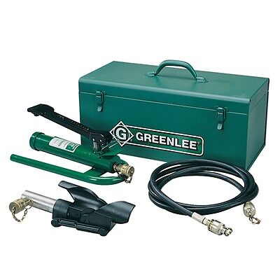 Greenlee 800F1725 Hydraulic Cable Bender w/Foot Pump, Hose Unit and Storage Box