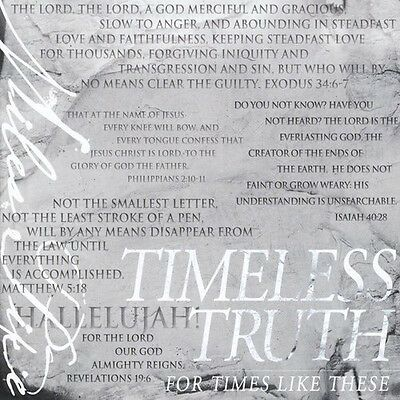 Miles Pike - Timeless Truth: For Times Like These [New CD]