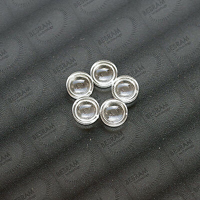 100pcs 7mm Flat-Convex Beam Collimation PMMA Lens for ALL Wavelength Laser