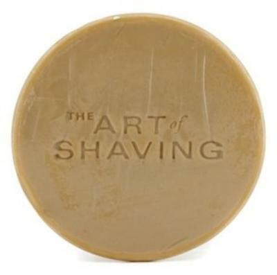 Nos Tallow The Art of Shaving Sandalwood Soap Refill with Gift Bag 3.4oz Unboxed