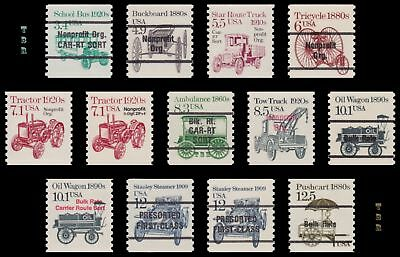2123a to 2133a + 2132b Precancels 2nd Transportation Coil Set of 13 MNH Buy Now