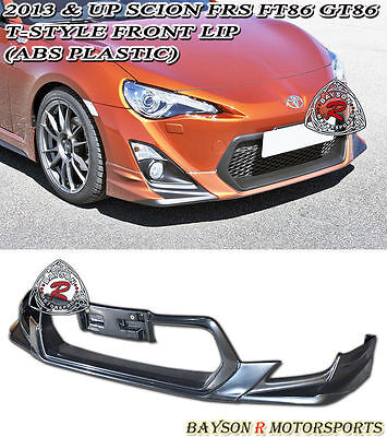 T-Style Front Lip (ABS) Fits 12-16 Scion FR-S