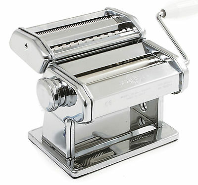 Marcato Atlas 150 Deluxe Pasta Machine Noodle Maker Table Clamp Made in Italy