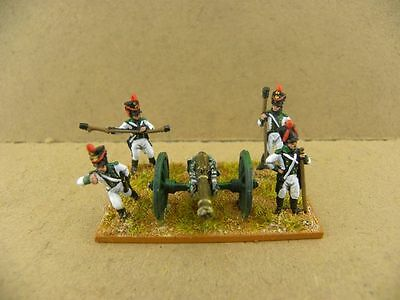 15mm Napoleonic Painted Saxons Foot Art Btty Sax007