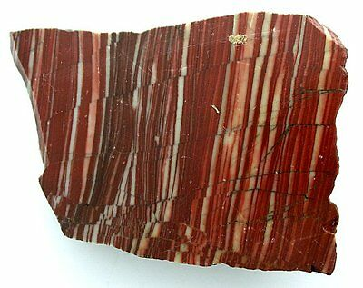 164 Gram Red Banded Jasper Cab Cabochon Gem Stone Gemstone Slab  Rough US43