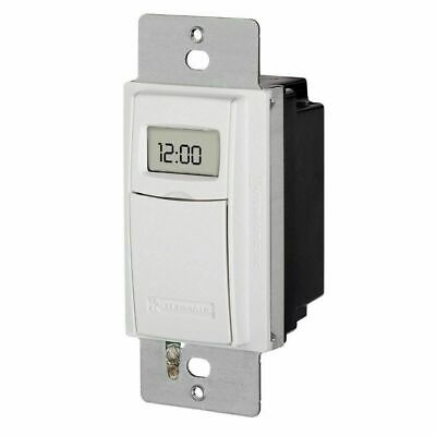 Intermatic ST01 15 Amp 24-Hour Programmable In-Wall Timer