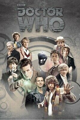 Doctor Who Tennant /& Smith British Comic Book Cover 11.75 x 36 Poster ROLLED 338