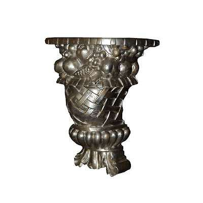 Hickory Manor Fruit & Lace Bracket/Gilt Silver - ABR1012GS
